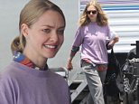 Picture Shows: Amanda Seyfried  June 06, 2016\n \n Actors Amanda Seyfried and Ed Helms on the set of 'The Clapper' in Los Angeles, California. 'The Clapper' is about how 15 minutes of fame destroys the life of a man who works as a clapper in television.\n \n Non-Exclusive\n UK RIGHTS ONLY\n \n Pictures by : FameFlynet UK © 2016\n Tel : +44 (0)20 3551 5049\n Email : info@fameflynet.uk.com
