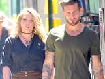 """Hilary Duff and Co-star, Nico Tortorella were spotted hanging out off camera, as they begin filming Season 3 of """"Younger"""" in NYC. The pair got close as they headed to lunch break together. They looked like a perfect match, as he escorted her to the Catering tent. She flashed a big smile as she left a Club scene at 1Oak. She wore a brown corduroy skirt and a black top , while Nico wore a casual T-shirt and jeans.   Pictured: Hilary Duff, Nico Tortorella Ref: SPL1296869  070616   Picture by: 247PAPS.TV / Splash News  Splash News and Pictures Los Angeles: 310-821-2666 New York: 212-619-2666 London: 870-934-2666 photodesk@splashnews.com"""