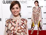 Jenna Coleman at the Glamour Women of the Year Awards 2016, Berkeley Square Gardens, London. PRESS ASSOCIATION Photo. Picture date: Tuesday June 7, 2016. Photo credit should read: Ian West/PA Wire