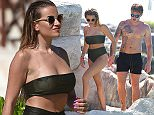 Picture Shows: Georgia Kousoulou, Tommy Mallet  May 24, 2016    Reality television star Georgia Kousoulou shows off her impressive figure as she bathes in a green bikini alongside her boyfriend, Tommy Mallet, while on on holiday in Cancun, Mexico.    The couple, who both appear on 'The Only Way Is Essex', are enjoying a romantic holiday at the Hard Rock Hotel Riviera Maya after Georgia surprised her beau by whisking him away ahead of his birthday this weekend.      Exclusive  WORLDWIDE RIGHTS    Pictures by : FameFlynet UK © 2016  Tel : +44 (0)20 3551 5049  Email : info@fameflynet.uk.com