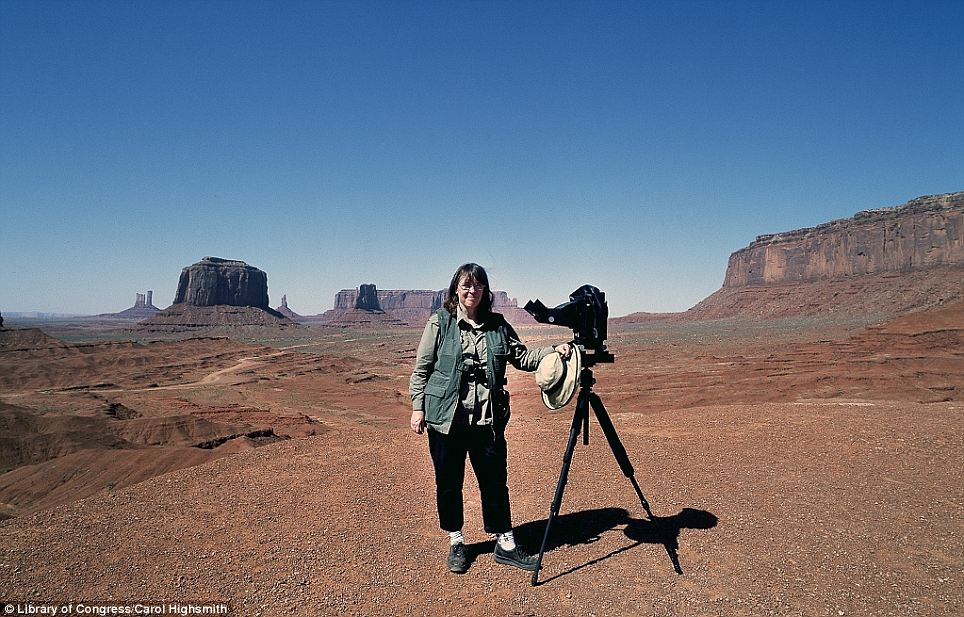 Creator: Photographer Carol M. Highsmith in Monument Valley, the Navajo tribal park in northern Arizona and southern Utah