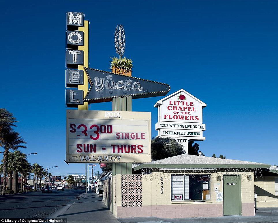 Attractions: Motels and neon art in Las Vegas, Nevada