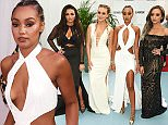 LONDON, ENGLAND - JUNE 07:  (L to R) Jesy Nelson, Perrie Edwards, Leigh-Anne Pinnock and Jade Thirlwall of Little Mix attend the Glamour Women Of The Year Awards in Berkeley Square Gardens on June 7, 2016 in London, United Kingdom.  (Photo by David M. Benett/Dave Benett/Getty Images)