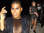 West Hollywood, CA - 'Rich Kids of Beverly Hills' star EJ Johnson wears an edgy ensemble to The Nice Guy in West Hollywood. AKM-GSI          June 7, 2016 To License These Photos, Please Contact : Maria Buda (917) 242-1505 mbuda@akmgsi.com sales@akmgsi.com or  Mark Satter (317) 691-9592 msatter@akmgsi.com sales@akmgsi.com www.akmgsi.com