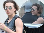 Photographer Brooklyn Beckham is seen hanging out with friends in London 7 June 2016. Please byline: Vantagenews.com