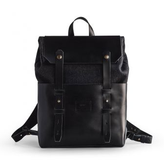 noise goods odyssey pack black front