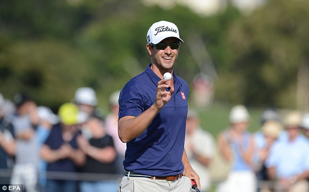 Top start: Scott rated his course-record 10-under 62 as one of his best rounds