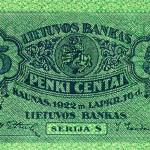 5 ct aversas, 1922 m.