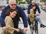 *EXCLUSIVE* Venice, CA - Tim Robbins takes a cruise with his much younger unknown girlfriend in Venice. It is thought that Tim, 54, is dating the mystery female who looked several years younger than both him and his ex-partner Susan Sarandon, who is also now seeing a much younger man.\nAKM-GSI   June  7, 2016\nTo License These Photos, Please Contact :\nMaria Buda\n(917) 242-1505\nmbuda@akmgsi.com\nsales@akmgsi.com\nor \nMark Satter\n (317) 691-9592\n msatter@akmgsi.com\n sales@akmgsi.com\n www.akmgsi.com\n