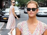 Mandatory Credit: Photo by Startraks Photo/REX/Shutterstock (5717707l)\nKarlie Kloss\nKarlie Kloss out and about, New York, America - 07 Jun 2016\nSuper Model Karlie Kloss spotted in The West Village\n