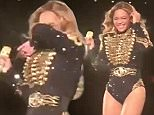 """Beyoncé sneezing last night and the whole stadium yelling """"Bless You"""" in return. #FormationWorldTour #NYC"""