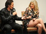 """NEW YORK, NY - JUNE 07:  James Franco and Tori Spelling attend the screening of James Franco's revamped version of """"Mother May I Sleep With Danger?"""" hosted by Lifetime, Sony Pictures Television and Vulture at Crosby Street Theater on June 7, 2016 in New York City.  (Photo by Brad Barket/Getty Images for Lifetime)"""