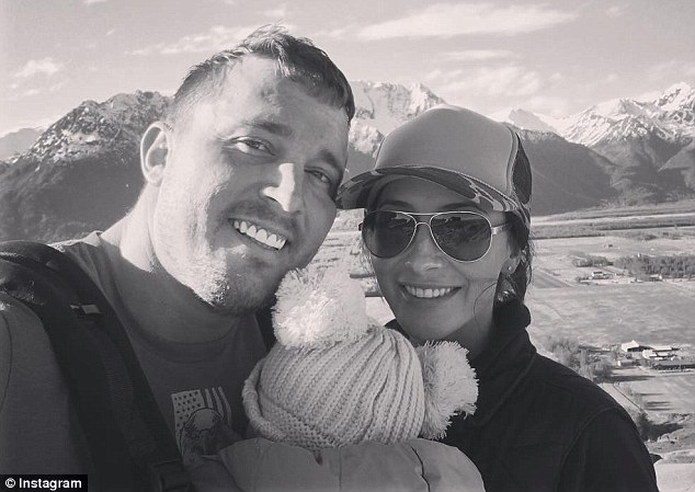 Best friends? Bristol Palin took to Instagram on Thursday to share this sweet photo of herself posed with her ex-fiance Dakota Meyer while they enjoyed a hike with their four-month-old daughter Sailor Grace