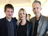 Mandatory Credit: Photo by Hannah Young/REX/Shutterstock (5718125a) Kate Moss and Jefferson Hack Jefferson Hack 'We Can't Do This Alone' book launch, London, Britain - 08 Jun 2016
