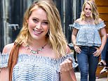 EXCLUSIVE: Hilary Duff seen leaving 1 OAK club in Chelsea in New York City after promotional photo shoot for 'Younger' TV Show.\n\nPictured: Hilary Duff\nRef: SPL1297626  070616   EXCLUSIVE\nPicture by: Allan Bregg /Splash News\n\nSplash News and Pictures\nLos Angeles:\t310-821-2666\nNew York:\t212-619-2666\nLondon:\t870-934-2666\nphotodesk@splashnews.com\n