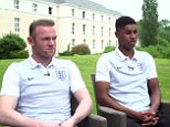 Rashford was speaking alongside team-mate and Manchester United and England captain Wayne Rooney