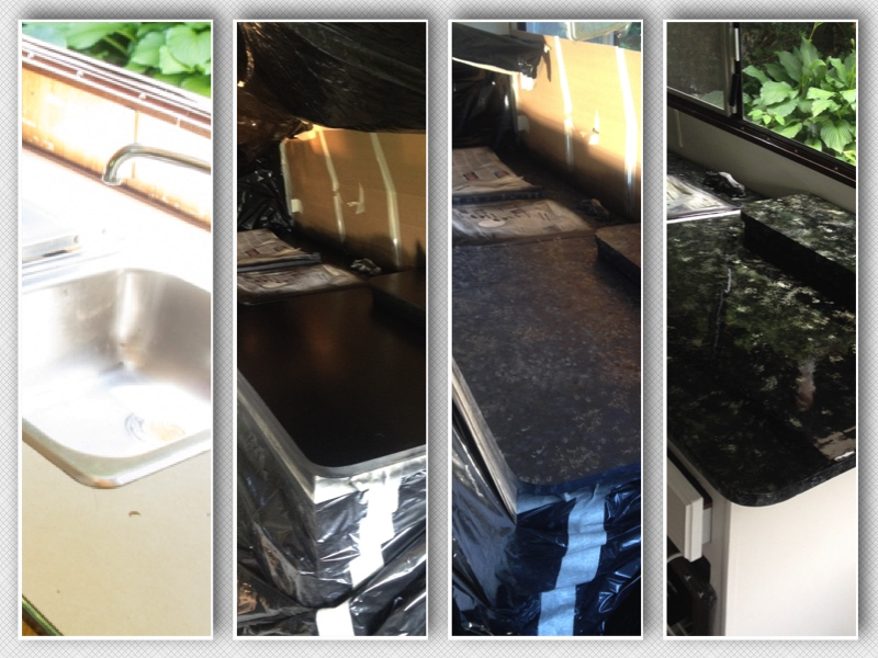Granitized Sink