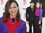 """HOLLYWOOD, CA - JUNE 07:  Musician Renn Hawkey (L) and actress Vera Farmiga attend the premiere of """"The Conjuring 2"""" during the 2016 Los Angeles Film Festival at TCL Chinese Theatre IMAX on June 7, 2016 in Hollywood, California.  (Photo by Frazer Harrison/WireImage)"""
