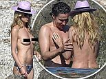 Picture Shows: Heidi Klum  May 18, 2016\\n \\n * EMBARGO: Strictly No Web/Online/Digital Permitted Before 8th June 2016 *\\n * Min Fee For Online On The 8th £750 For Set *\\n \\n German Model and US TV Personality Heidi Klum gets amorous with her boyfriend Vito Schnabel in the Mediterranean Sea as the pair head behind a rock while taking a dip in the water in Pampelonne, Gulf of Saint-Tropez, France.\\n \\n Heidi went topless and relaxed on the beach before the frisky pair headed for the more intimate location. Afterwards the pair headed back to their yacht. \\n \\n * EMBARGO: Strictly No Web/Online/Digital Permitted Before 8th June 2016 *\\n * Min Fee For Online On The 8th £750 For Set *\\n \\n Exclusive All Rounder\\n UK RIGHTS ONLY\\n Pictures by : FameFlynet UK © 2016\\n Tel : +44 (0)20 3551 5049\\n Email : info@fameflynet.uk.com