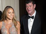 NEW YORK, NY - MAY 14:  Singer Mariah Carey (L) and James Packer attend the 27th Annual GLAAD Media Awards at The Waldorf=Astoria on May 14, 2016 in New York City.  (Photo by Michael Stewart/WireImage)