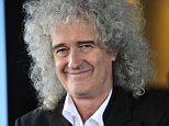 BRIAN MAY AT THE CONSERVATIVE PARTY CONFERENCE IN BIRMINGHAM