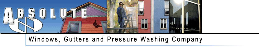 Absolute Windows, Gutters and Pressure Washing Company