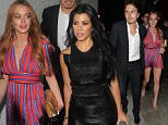 Picture Shows: Lindsay Lohan, Kourtney Kardashian  June 09, 2016\n \n Kourtney Kardashian and Lindsay Lohan party together at Loulou's club in Mayfair after having dinner together at Restaurant Ours in London, United Kingdom.\n \n Non Exclusive\n WORLDWIDE RIGHTS\n \n Pictures by : FameFlynet UK © 2016\n Tel : +44 (0)20 3551 5049\n Email : info@fameflynet.uk.com