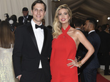 """FILE - In this May 2, 2016, file photo, Jared Kushner, left, and Ivanka Trump arrive at The Metropolitan Museum of Art Costume Institute Benefit Gala, celebrating the opening of """"Manus x Machina: Fashion in an Age of Technology"""" in New York. A new power player has emerged among the feuding factions behind Trump¿s presidential campaign, one that through the bonds of marriage enjoys a direct line to the Republican billionaire. Despite limited political experience and some family baggage, Trump¿s son-in-law Jared Kushner is playing an active, and previously unreported, role in virtually every aspect of the New York real estate magnate¿s presidential bid. (Photo by Evan Agostini/Invision/AP)"""