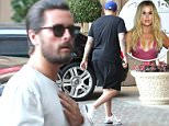 Please contact X17 before any use of these exclusive photos - x17@x17agency.com   Wednesday, June 8, 2016 - Scott Disick and Rob Kardashian are seen getting out of Scott's black Rolls Royce headed to dinner at the Montage Hotel in Beverly Hills, CA. Rob is dressed down in black shorts, a t-shirt and tennis shoes and Scott where's a long sleeve beige shirt, jeans and brown boots. Luis-Daddy/X17online.com PREMIUM EXCLUSIVE