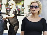 EXCLUSIVE: Pregnant Holly Madison wearing all black whilst shopping in Los Angeles, California\n\nPictured: Holly Madison\nRef: SPL1296624  070616   EXCLUSIVE\nPicture by: Splash News\n\nSplash News and Pictures\nLos Angeles: 310-821-2666\nNew York: 212-619-2666\nLondon: 870-934-2666\nphotodesk@splashnews.com\n