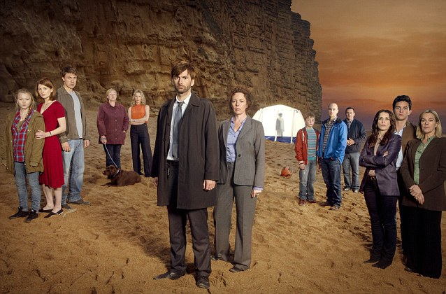 Broadchurch, the eight part drama series has captured the nation. The star-studded cast includes David Tennant, Olivia Colman, Andrew Buchan and Jodie Whittaker