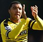 File photo dated 30-04-2016 of Watford's Troy Deeney PRESS ASSOCIATION Photo. Issue date: Thursday June 9, 2016. Watford have rejected a bid in excess of £15million from Leicester for striker Troy Deeney, Press Association Sport understands. See PA story SOCCER Watford. Photo credit should read Dominic Lipinski/PA Wire.
