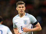 England's John Stones in action during the International Friendly match at Wembley Stadium, London.   PRESS ASSOCIATION Photo. Picture date: Tuesday March 29, 2016. See PA story SOCCER England. Photo credit should read: Mike Egerton/PA Wire.   RESTRICTIONS: Use subject to FA restrictions. Editorial use only. Commercial use only with prior written consent of the FA. No editing except cropping. Call +44 (0)1158 447447 or see www.paphotos.com/info/ for full restrictions and further information.