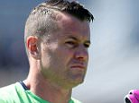 Republic of Ireland goalkeeper Shay Given during a training session at the Stade de Montbauron, Versailles. PRESS ASSOCIATION Photo. Picture date: Thursday June 9, 2016. See PA story SOCCER Republic. Photo credit should read: Chris Radburn/PA Wire. RESTRICTIONS: Use subject to restrictions. Editorial use only. Book and magazine sales permitted providing not solely devoted to any one team/player/match. No commercial use. Call +44 (0)1158 447447 for further information.