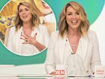 EDITORIAL USE ONLY. NO MERCHANDISING\nMandatory Credit: Photo by S Meddle/ITV/REX/Shutterstock (5725192bx)\nClaire Sweeney\n'Loose Women' TV show, London, UK - 09 Jun 2016\n