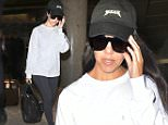 Kourtney Kardashian arrives back at LAX Airport.\n\nPictured: Kourtney Kardashian\nRef: SPL1297782  080616  \nPicture by: MONEY$HOT-$HAWN/ Splash News\n\nSplash News and Pictures\nLos Angeles: 310-821-2666\nNew York: 212-619-2666\nLondon: 870-934-2666\nphotodesk@splashnews.com\n