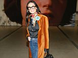 Mandatory Credit: Photo by Ryan Miller/REX/Shutterstock (5725514g) Demi Moore 'Cindy Sherman: Imitation of Life' exhibition preview, The Broad, Los Angeles, USA - 09 Jun 2016
