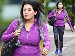 June 7th, 2016\n \n * Embargo: Strictly No Web Till 7pm * Then £50 Per Picture *\n \n TV Personality Scarlett Moffatt was spotted wearing purple workout gear while talking on her phone in Newcastle, England. \n \n Exclusive All Rounder\n WORLDWIDE RIGHTS\n Pictures by : FameFlynet UK © 2016\n Tel : +44 (0)20 3551 5049\n Email : info@fameflynet.uk.com