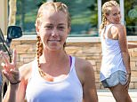 EXCLUSIVE: Kendra Wilkinson seen with her hair in braids as she leaves the salon in Los Angeles, CA,  Kendra said the braids are her birthday braids as she was leaving salon.  Kendra's birthday is June 12.\n\nPictured: Kendra Wilkinson\nRef: SPL1297948  080616   EXCLUSIVE\nPicture by: VIPix / Splash News\n\nSplash News and Pictures\nLos Angeles: 310-821-2666\nNew York: 212-619-2666\nLondon: 870-934-2666\nphotodesk@splashnews.com\n