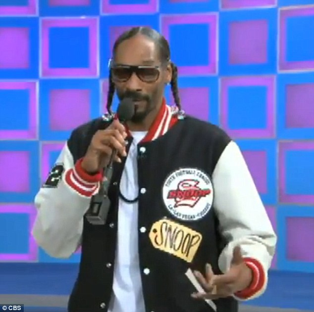 A Dogg day afternoon: Snoop was overjoyed that he finally got the chance to appear on The Price is Right this week