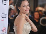 """HOLLYWOOD, CA - NOVEMBER 05:  Angelina Jolie attends the premiere of """"By the Sea"""" at the 2015 AFI Fest at TCL Chinese 6 Theatres on November 5, 2015 in Hollywood, California.  (Photo by Jason LaVeris/FilmMagic)"""