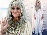 WASHINGTON, DC - JUNE 09:  Kesha arrives at the 2016 Planned Parenthood Annual Gala at Washington Hilton on June 9, 2016 in Washington, DC.  (Photo by Leigh Vogel/Getty Images)