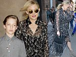 Kate Hudson and her son leave their hotel Featuring: Kate Hudson Where: Manhattan, New York, United States When: 10 Jun 2016 Credit: TNYF/WENN.com