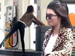 eURN: AD*209161179  Headline: **MUZZED**PREMIUM EXCLUSIVE Kendall Jenner Struggles At The Gas Pump Caption: Please contact X17 before any use of these exclusive photos - x17@x17agency.com   PREMIUM EXCLUSIVE - Kendall Jenner wore a leopard print jacket and heels for a trip downtown.  The star stopped for gas and had some trouble at the pump.  After sorting it out, the star paused for a photo with fans, on Thursday, June 9, 2016  X17online.com Photographer: RT/X17online.com\n Loaded on 10/06/2016 at 05:38 Copyright:  Provider: RT/X17online.com  Properties: RGB JPEG Image (3166K 143K 22.3:1) 1074w x 1006h at 300 x 300 dpi  Routing: DM News : News (EmailIn) DM Online : LA Basket (Miscellaneous)  Parking: