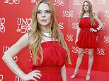 epa05353822 US actress Lindsay Lohan poses for the media during a photocall for an advertisement even held in Madrid, Spain, 09 June 2016.  EPA/JAVIER LOPEZ