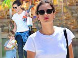 Picture Shows: Noah Mazur, Alessandra Ambrosio  June 08, 2016\n \n Model Alessandra Ambrosio and her son Noah are spotted out shopping in Santa Monica, California. The pair stopped by a birthday party supply store to buy some supplies for an upcoming birthday. \n \n Non Exclusive\n UK RIGHTS ONLY\n \n Pictures by : FameFlynet UK � 2016\n Tel : +44 (0)20 3551 5049\n Email : info@fameflynet.uk.com