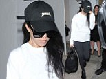 EXCLUSIVE Kourtney Kardashian leaves her hotel in the early morning wearing a casual outfit, having been up until almost 4am partying in Mayfair. Kourtney appeared very tired, having not had much sleep, and hid herself underneath a Kanye West 'Yeezus' baseball cap. This proved to be a bad choice though, as she walked straight into the door of her car, which was waiting to take her to the airport. Luckily the only thing that appeared to be damaged, was the stars pride!\n9 June 2016.\nPlease byline: Will/PalaceLee/Vantagenews.com