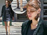 Alexa Chung pairs denim skirt with velvet jacket and leopard printed shoes while out on a nice summer day in New York City.\n\nPictured: Alexa Chung\nRef: SPL1299707  100616  \nPicture by: SYR/ Splash News\n\nSplash News and Pictures\nLos Angeles: 310-821-2666\nNew York: 212-619-2666\nLondon: 870-934-2666\nphotodesk@splashnews.com\n