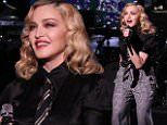 Madonna Perfroming
