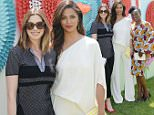BEVERLY HILLS, CA - JUNE 08:  Anne Hathaway and Camila Alves attend the launch of Yummy Spoonfuls at Target on June 8, 2016 in Beverly Hills, California.  (Photo by Stefanie Keenan/Getty Images for Target)
